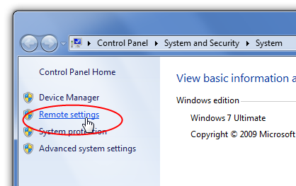 How to Enable Remote Desktop (Windows 7)